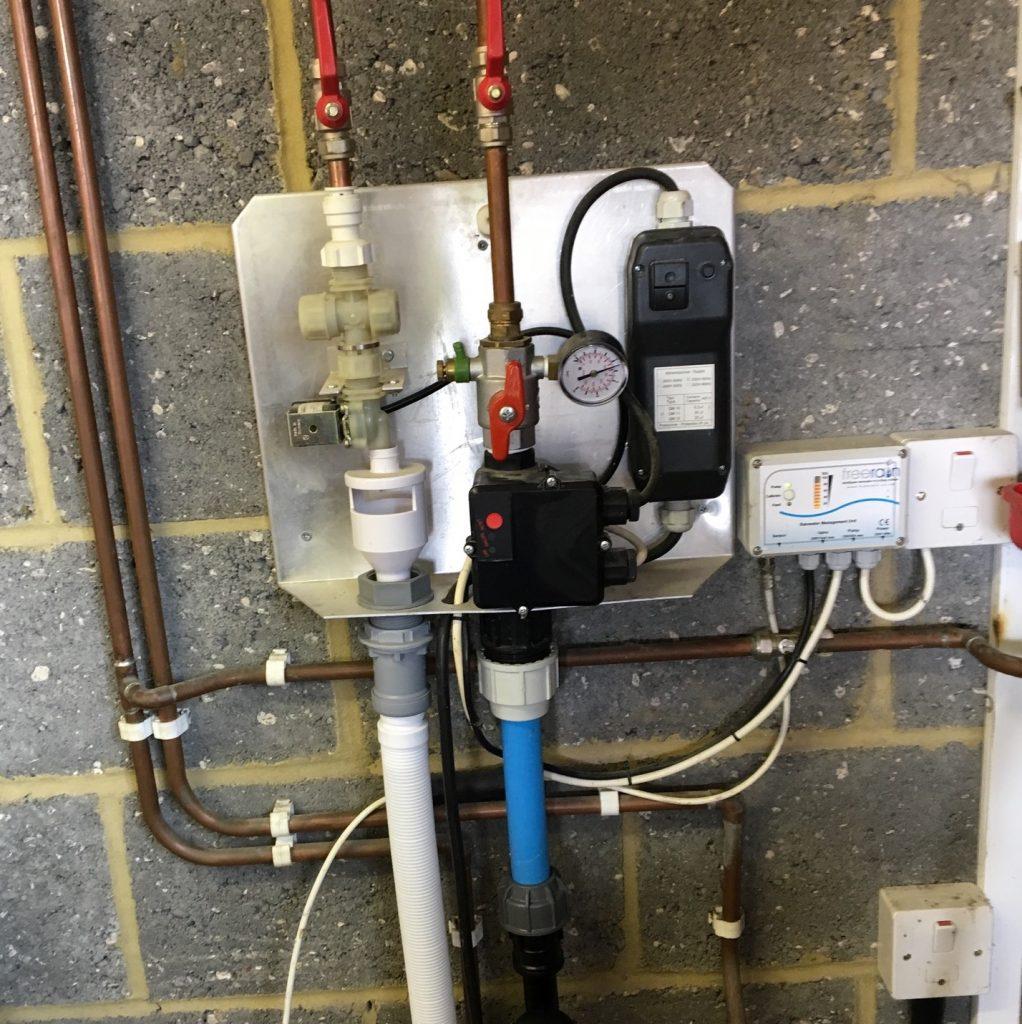 Rainwater harvesting repairs